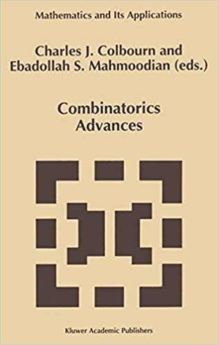 Combinatorics Advances (Mathematics and Its Applications)