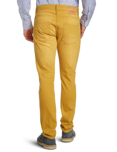 Original Tim skinny amp; Marrón Honey JONES Vaqueros para Mustard JACK hombre qXBtEwq