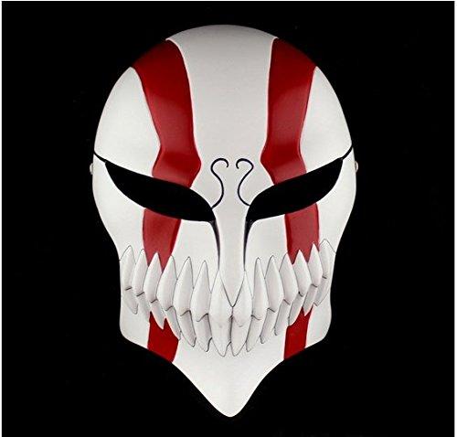 Bleach Ichigo Kurosaki de Halloween Cosplay dos rojo máscara para coche: Amazon.es: Hogar