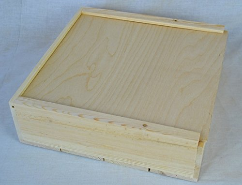 Slide Top Box - 12x12x4 Slide top Box