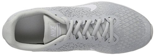 Nike Air Max Sequent 2 (GS), Zapatillas de Gimnasia Para Niños Blanco (Pure Platinum/white-wolf Grey-mtlc)