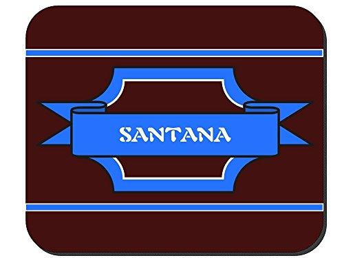 Santana - Boy Name Mouse Pad - Santana Kids