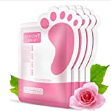 AFY AIVOYE Baby Foot Mask Removes Dead Skin Calluses Roughness Exfoliating 2PACK -2PAIR