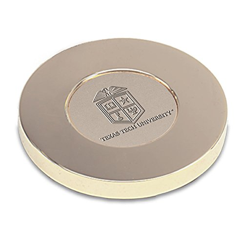 AdSpec NCAA Texas Tech Red Raiders Adult Paperweight, One Size, Gold