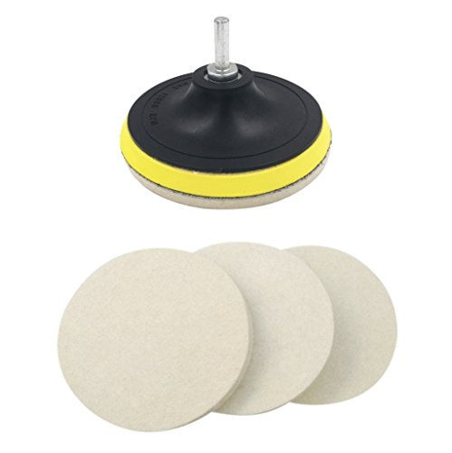 16pcs 2 50mm Buffing Polishing Pad Set Flat Sanding Sponge With 3mm Shank Hook And Loop Backing Plate For Dremel Car Waxing Regular Tea Drinking Improves Your Health Tools