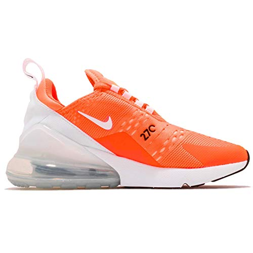 270 Basse White Total Ginnastica W NIKE Orange Air Donna da 001 Scarpe Black Multicolore Max BgwSqt