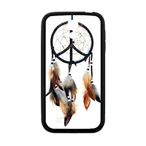 Hipster Elegant Peace Logo Dream Catcher Samsung Galaxy S6 TPU Laser Technology Cloud Feather Catcher