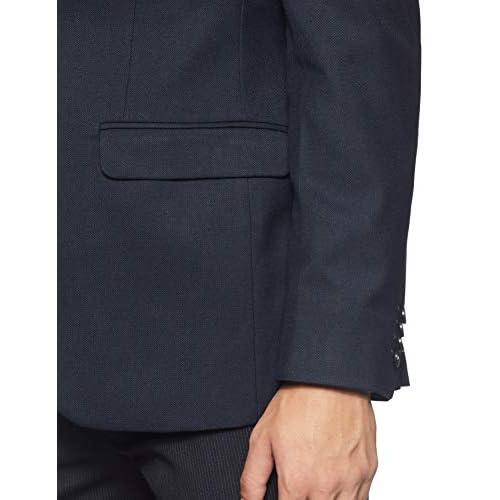 41i3g3FkCAL. SS500  - Raymond Men's Notch Lapel Slim fit Blazer