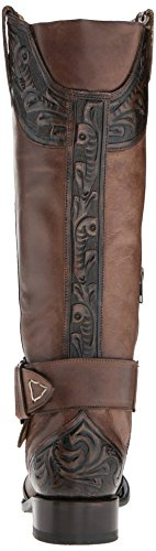 Stetson Women's Paisley Western Boot, Brown Brown