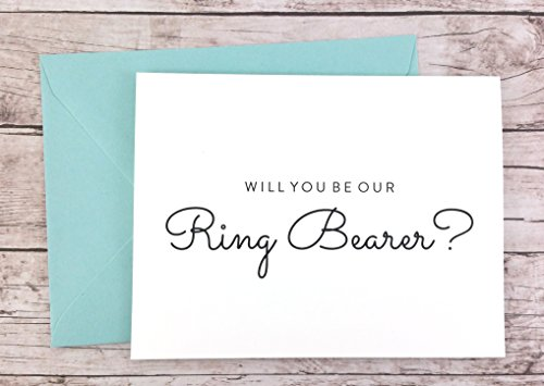 Will You Be Our Ring Bearer Card, Ring Bearer Gift, Wedding Card (FPS0016)
