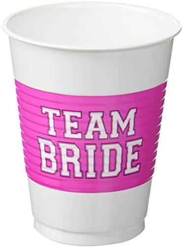 Team Bride Plastic Cups   Wedding and Engagement ()