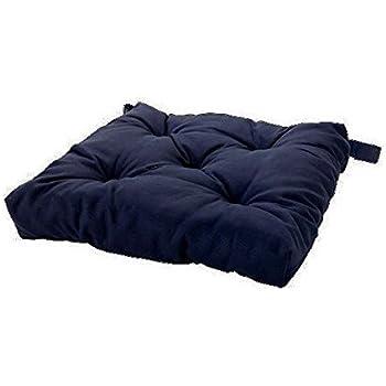 Ikea Navy Blue Soft Chair Cushion / Pad (1)