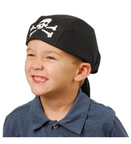 Hidden Treasure Pirate Costumes (Pirate Headwrap Kids - Pirate Accessories - Pirate Hats - Pirate Bandana by Funny Party Hats)