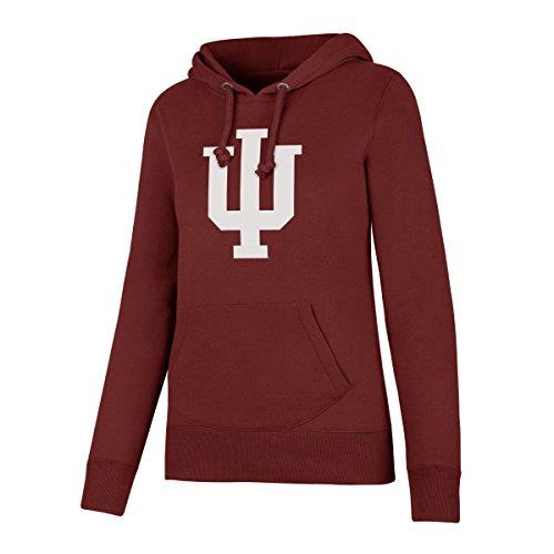 NCAA Indiana Hoosiers Women's Ots Fleece Hoodie, Large, Cardinal ()