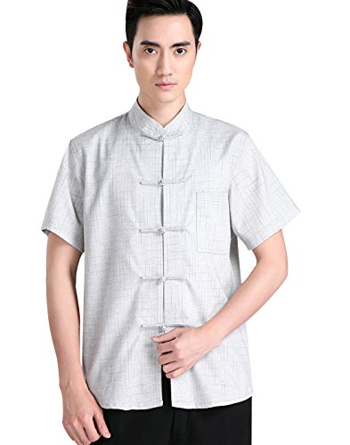 Casual Clair Gris Homme Chemise Acvip qxp5Sw