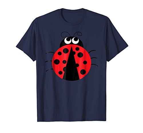 Emojis Ladybug Insect Shirt   Funny Costume Gift -