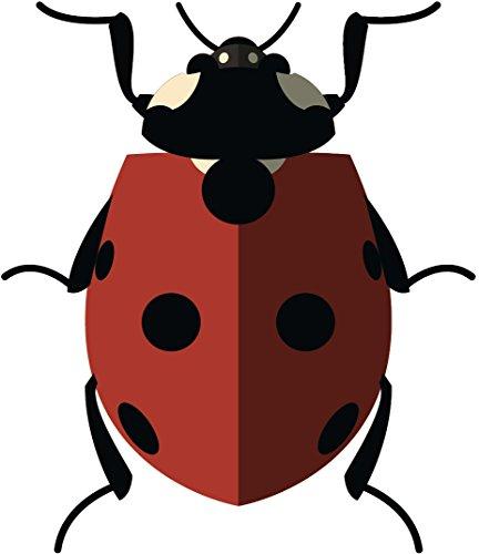 Simple Classic Insect Bug Cartoon Emoji Vinyl Sticker (12