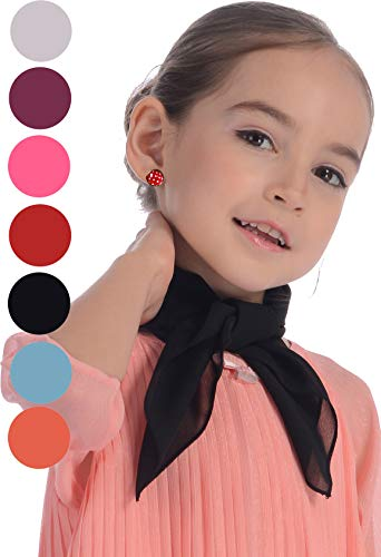Black Scarf 50s for Kids and Toddler for Halloween Fancy -