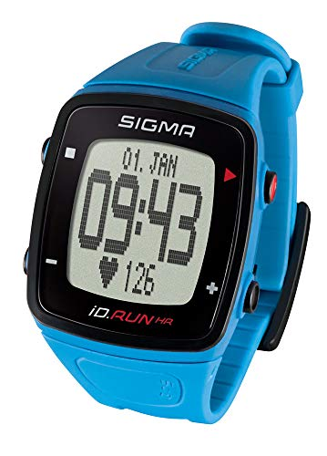 SIGMA SPORT iD.Run HR, hartslagmeter, GPS-hardloophorloge, polsmeting, activiteitstracker