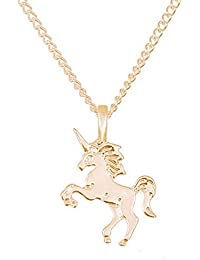 Women Unicorn Pendant Clavicle Alloy Chain Necklace Jewelry Wedding Party Gift