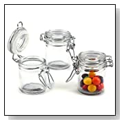Kate Aspen Mens Mini Glass Favor Jars