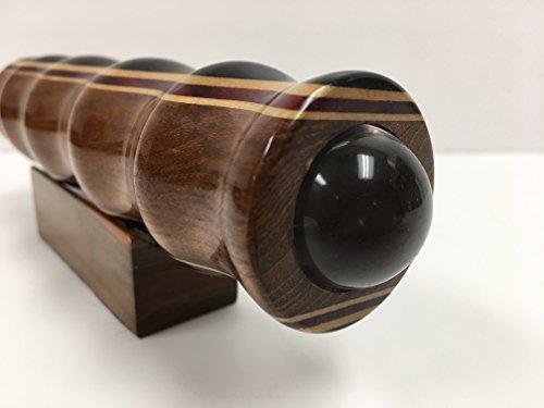 N & J Kaleidoscope Teleidoscope in Teak, 7 Inch Barrel, Laminated Solid Woods Including Padauk, Jalneem and Ebony by N & J (Image #1)