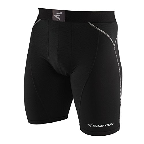 イーストンBoys ' m7 Sliding Shorts B00OPZLI1G Youth Large|ブラック ブラック Youth Large