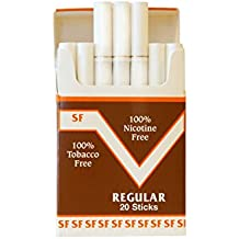 One Pack Made In USA Since 1998 100% Nicotine Free(Cocoa Bean Sticks) Regular Flavor