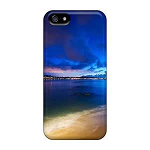 Iphone 5/5s Case Bumper Tpu Skin Cover For Beautiful Beach Accessories by lolosakes