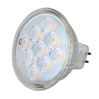 MR16 5W 9LEDS 230LM 3000-3500K Warm White Color Light LED...