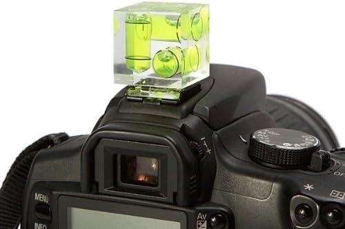 Oting - Nivel de burbuja para cámaras fotográficas (se fija a la ...