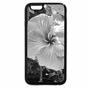 iPhone 6S Plus Case, iPhone 6 Plus Case (Black & White) - Flowers Contrast background 42