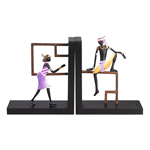 Handmade Antique Bookends Product For Home And Workplace- Beautiful Design For Modern Home Decor- Ideal For Gifting (Figure Bookend)