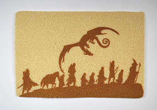 The Lord of the Rings Doormat Lord of the Rings Door Mat Movie Art Decor Unique Doormat Gift for Him Gift for Her Best Gift Idea