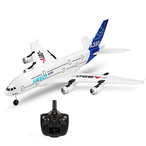 Goolsky Wltoys XK A120 Airbus A380 Model Plane 3CH EPP 2.4G Remote Control Airplane Fixed-Wing RTF Toy
