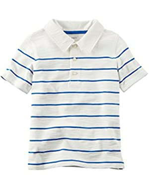 Carter's Baby Boys' Striped Polo Shirt
