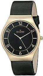 Skagen Men's SKW6145 Grenen Analog Display Analog Quartz Black Watch