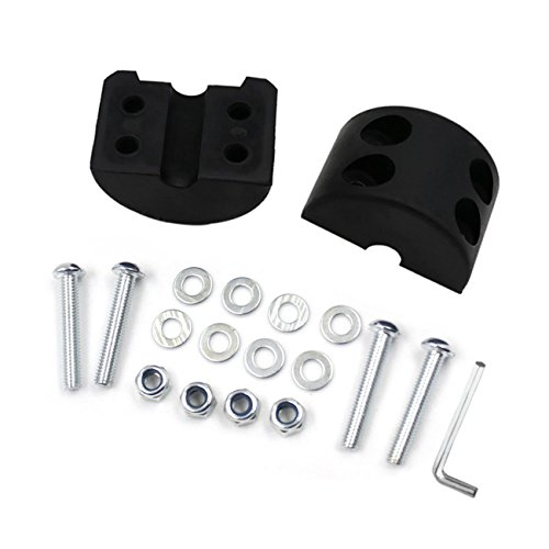 (Opall Hard Top Quick Removal Change Kit set of 6 Tee Knobs For Jeep Wrangler JK JKU Sport Sahara Rubicon Freedom 2007-2016 …)