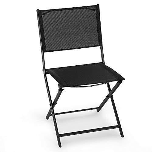 Stark Item Set of 4 Outdoor Patio Folding Sling Chairs Camping Deck Garden Pool Beach (Me Store Umbrella Beach Near)