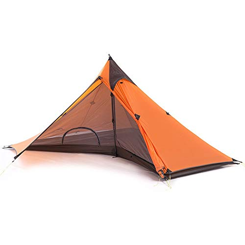 AMY-ZW Camping Tent Single Tent Hiking Double Rainproof Ultra Light Portable Outdoor Camping Tent Summer Outdoor Picnic Tent