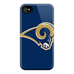 Durable St. Louis Rams Back Cases/covers for iphone 5c case