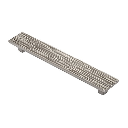 Wisdom Stone 4115128SN River 5 In. Cabinet Pull, 128Mm (5In c to c), Satin (Architectural Stone)