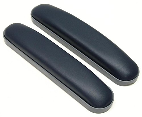 Wheelchair Armrest Pad Vinyl (Full Length 14 inches, Dark Blue) Pair