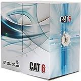 Ethernet Lan Cable Cat6 500ft UTP Bulk Pull Box ( BLACK) - WireShopper