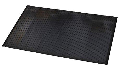 EVIDECO 7401103 Bamboo Rug Bathroom Mat Anti Slippery 31.5