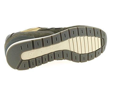 NEW BALANCE MRL996MT D Sneaker, oliv / dunkelbraun