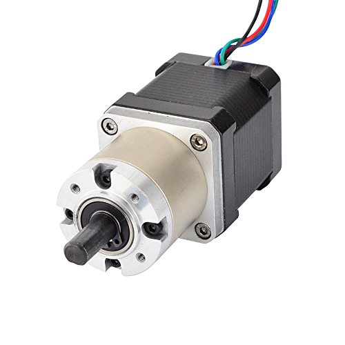 (STEPPERONLINE 27:1 Planetary Gearbox High Torque Nema 17 Stepper Motor 3D Printer DIY Camera)