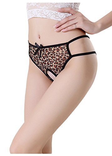 Moxeay® Pack of 3 Sexy Leopard Underwear