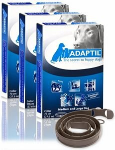 VPL 3 Pack ADAPTIL OnTheGo Collar for Dogs (Large) by Adaptil