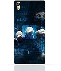 Sony Xperia Z3 TPU Silicone Case with Dangerous Hacker.